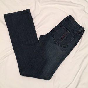 Radcliffe London Bootcut Dark Wash Jeans size 28